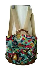 LIly Bloom Backpack Flowers Strawberries Tourquise