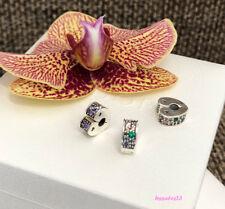 Pandora Arc of Love Clip Charm, Multi-Colored CZ,Bracelet Bead,New,#797020NRPMX