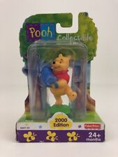 "Winnie The Pooh Collectible Toy 3"" Figure Accordion Disney Fisher Price 2000"