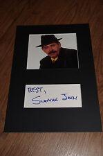 Scatman John (+ 1999) signed autografo in 20x30 cm PASSEPARTOUT inperson look