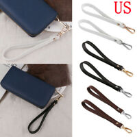 Genuine Leather Detachable Replacement Wrist Strap For Bag Purse Wristlet Pouch