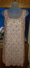 NWT Anthropologie Moulinette Soeurs Heavily Beaded Cocktail Dress Size 8