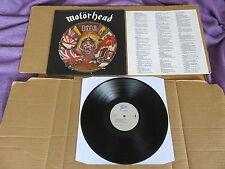 MOTORHEAD 1916 EPIC LP RARE 1991 ORIGINAL 1ST PRESSING 4674811 RAMONES LEMMY