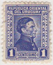 (UG-99) 1928 Uruguay 1c blue ARTIGUS (U)