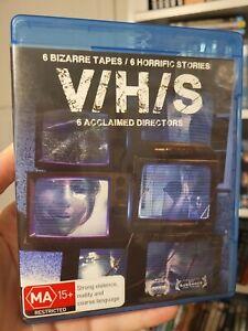 VHS Blu Ray HORROR ANTHOLOGY  Reg B rare