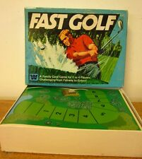 FAST GOLF vtg family Card Game course 1977 putting Whitman OG