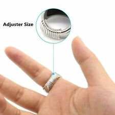 New 12pcs/set Ring Size Adjuster Insert Guard Tightener Reducer Resizing Fitter