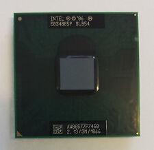 Intel Core 2 Duo CPU 2.13 GHz / 3M / 1066 Mhz P7450 Mobile Processor SLB54