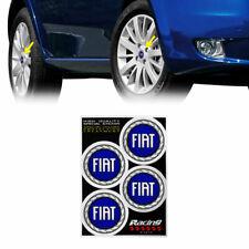 Adesivi Copriruota per Fiat Logo 2007 Diametro 48 mm