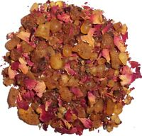 LUCK Hand Blended Grain Incense PAGAN WICCAN SPELL RITUAL  Loose Incense