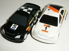Scalextric Rally Racer Car - White - Micro 1/64e Echelle