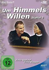 4 DVDs * UM HIMMELS WILLEN - STAFFEL 5 | FRITZ WEPPER ~ MB # NEU OVP ^