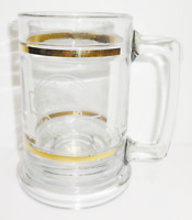 Copenhagen Since 1822 Stein Beer Clear Glass Mug IT SATISFIES