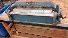 PEXTO PX-24 BOX AND PAN FINGER BRAKE