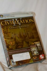Civilization IV 2005 PC CD-ROM Video Game Complete in Box Sidmeier's