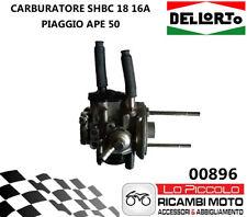 Dellorto 00896 Carburatore SHBC 18/16 A per Ape 50 - Grigio