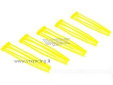 25 FASCETTE CABLAGGIO PLASTICA NYLON COLORATE GIALLE CABLE TIES 25PZ 100mm VRX