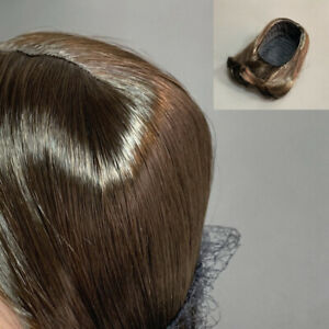 18'' American Doll Truly Me Brown Hair Wig Replacement Parts Accessory Toys Gift