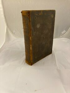 Antique Welsh Leather Bound & Studded family Bible