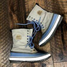 SOREL Women's 1964 Premium CVS Snow Rain Lace Up Boots Waterproof 6