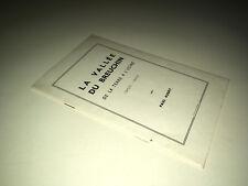 Paul Aubry LA VALLEE DU BREUCHIN DE LA TERRE A L'USINE 1900-1950 VOSGES - DC13B