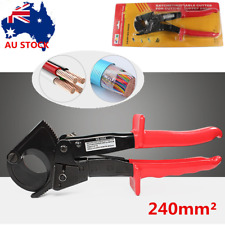 Ratchet Copper Cable Cutter up to 240mm² Electrical Electricians Wire Cut Tool