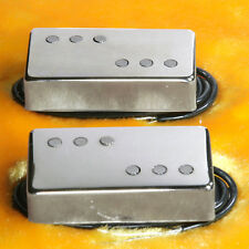 Lindy Fralin Twangmaster Pickup Set Nickel Covers Humbucker Sized TONE for Miles
