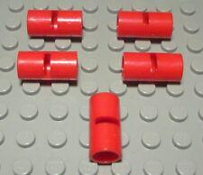 Lego Technic Doppelverbinder für Steck Pin Rot 5 Stück                    (25 #)
