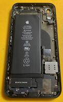 100% Original Apple iPhone XR Black Rear Glass OEM Factory Housing - 99% Battery