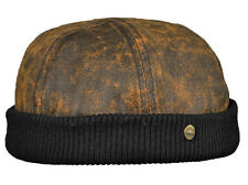 Balke Herren Docker Cap Mütze mit Klettverschluss 38150159 Lakota braun