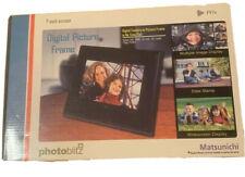 matsunichi Photo Blitz digital photo frame 7 inch NEW