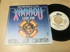 "ELO ELECTRIC LIGHT ORCHESTRA SPANISH 7"" SINGLE SPAIN WHITE LABEL XANADU IM ALIVE"