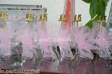 12 Cinderella Slipper Handmade Party Favors Quinceañera  Decoration 15 Años