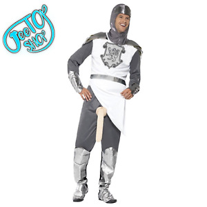 New Adult Knight To Remember Rude Flasher Stag Night Outfit Fancy Dress Costume