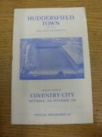 19/11/1966 Huddersfield Town v Coventry City  (rusty staple). Thanks for viewing