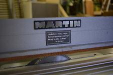Pneumatischer Druckbalken von MARTIN für Kölle SCM Altendorf Formatkreissäge
