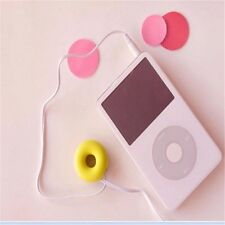 2 for 1 Silicone Doughnut Earphone Cable Winder, Great stocking / cracker filler