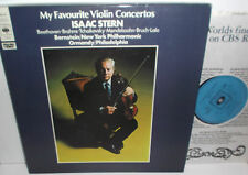 CBS 77418 Beethoven Brahms Isaac Stern Favourite Violin Concertos 4LP Box Set