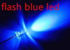 10xa0707 flash 5mm blue LEDs, automatisch blinkende blaue leds.ogeled leds