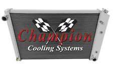 1973-1987 Chevy C10 C20 Silverado Champion Cooling 3 Row Radiator