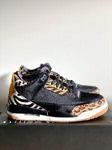 "NEW Nike Air Jordan 3 Retro SE ""Animal Instinct"" Black  CK4344-002 Men's Sz 10.5"