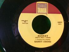MINT/M- NORTHERN SOUL 45~BARRETT STRONG~MONEY THATS WHAT/APOLIGIZE~DM MIX 066220