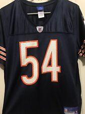 VTG Chicago Bears NFL Football Jersey #54 Brian Urlacher Reebok Youth Large