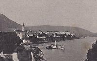 Hainburg an der Donau - Ortsansicht - um 1920 - selten !