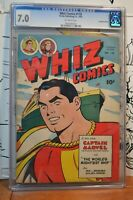 Whiz Comics #118 CGC 7.0 Shazam Captain Marvel Canadian Variant Only 1 Graded DC