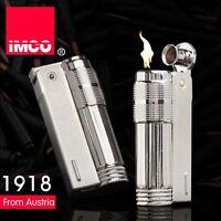 Vintage IMCO 6700 Stainless Steel Old Style Gasoline Cigarette Oil Lighter 2020