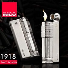 Vintage IMCO 6700 Stainless Steel Old Style Gasoline Cigarette Oil Lighter 2018