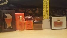 LOT OF 5 rare and vintage perfumes,Woman Mini SOPRANI,LEONARD, BEVERLY HILLS #21