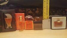 LOT OF 5 rare and vintage perfumes,Woman Mini SOPRANI,LEONARD, BEVERLY HILLS #21