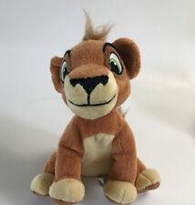 """Disney The Lion King 2 Kovu Stuffed Plush Scars Son Pellet UPC Tush Tag 7"""" Tall"""